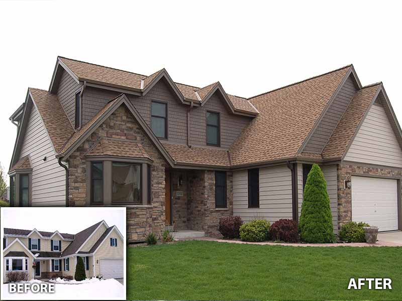 Images gallery callen construction - Exterior home improvements ...