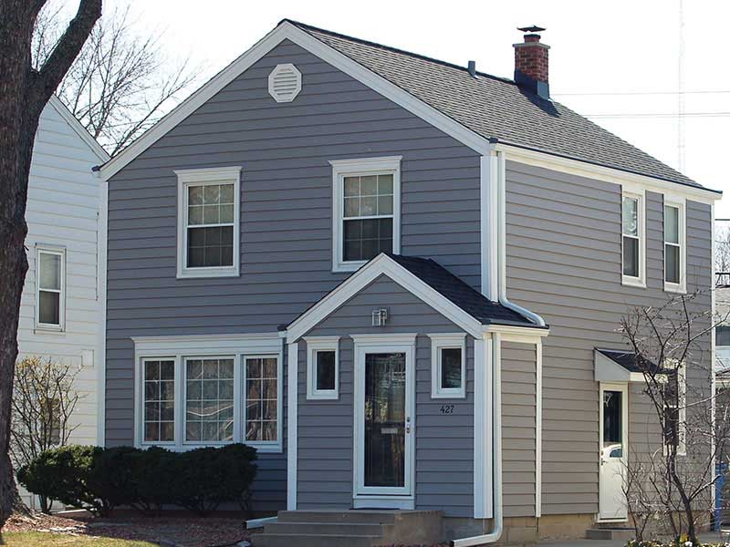 exterior remodeling project