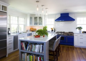 Ways to Add Dash of Color to Kitchens