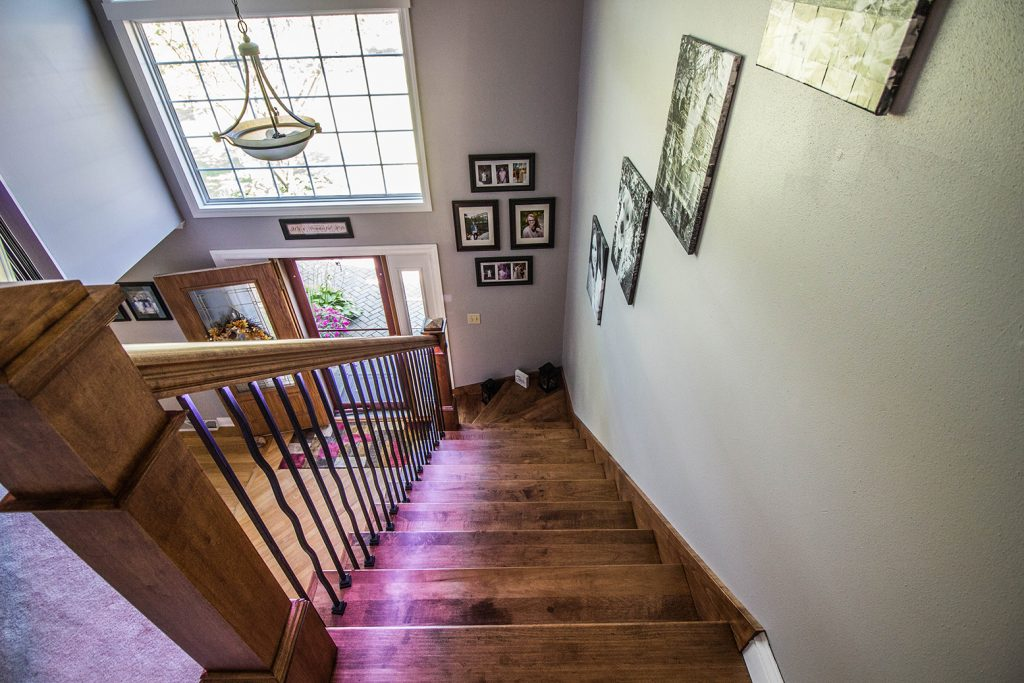 Lighting Adds WOW Factor to Entryway Renovation