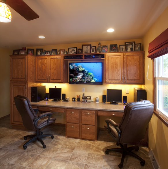 Making the Most of Interior Spaces: Home Offices and Custom Cabinetry