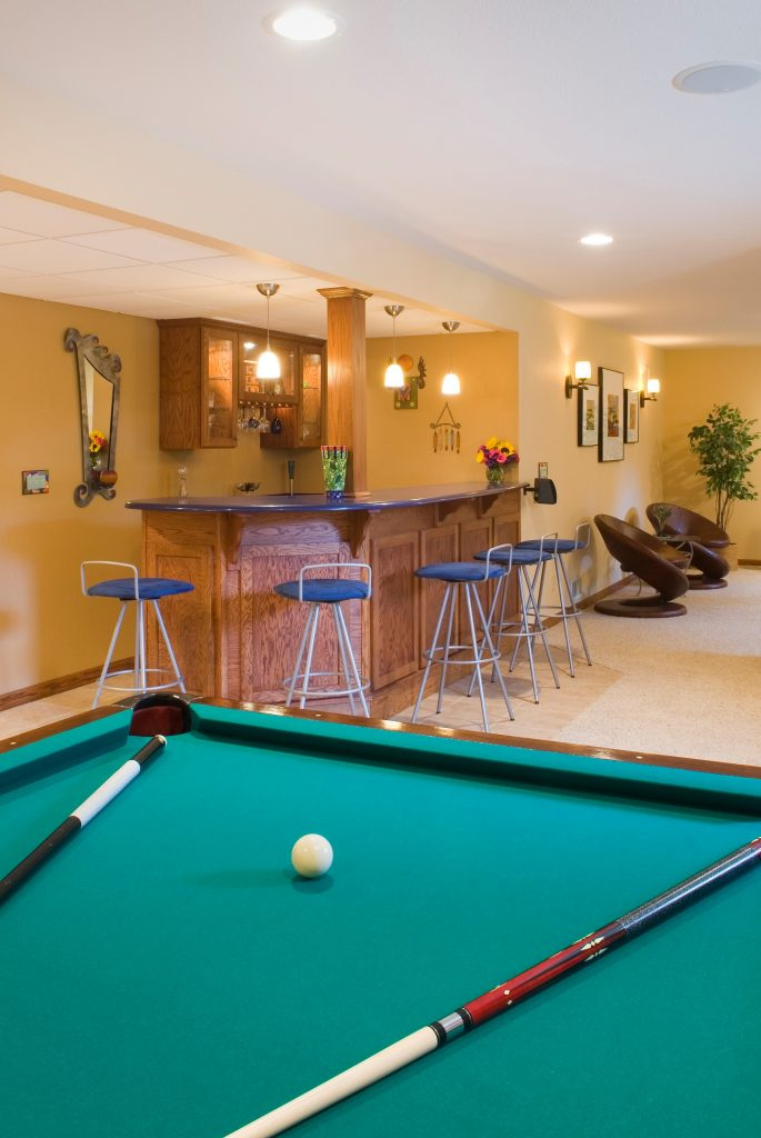 Transform Basement into a Fun and Functional Family Room
